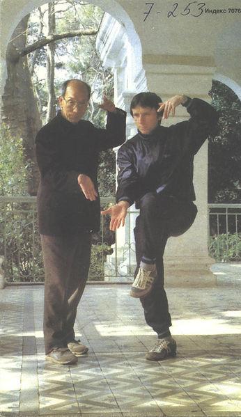 Н.Н.Балашов и Цянь Юйцай