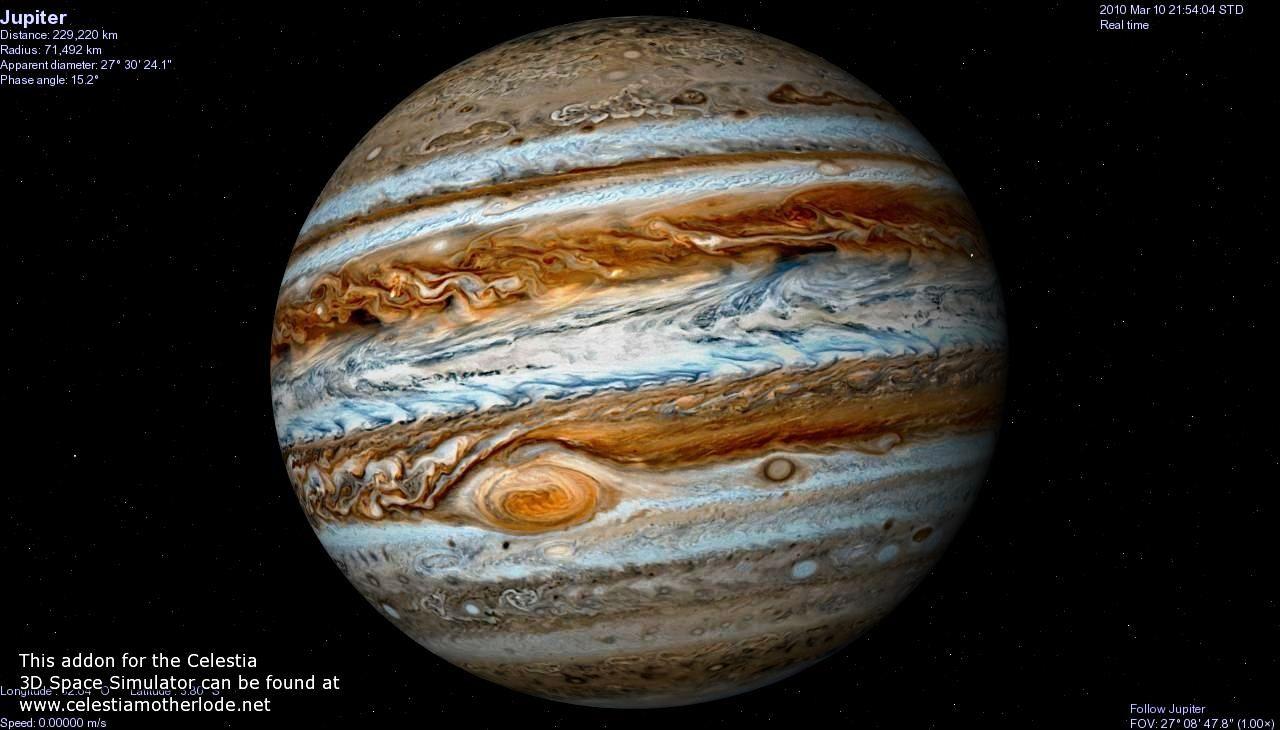 Противостояние Юпитера