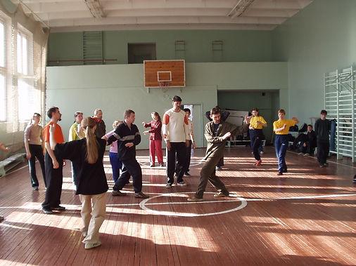 Тренировка тайцзицюань