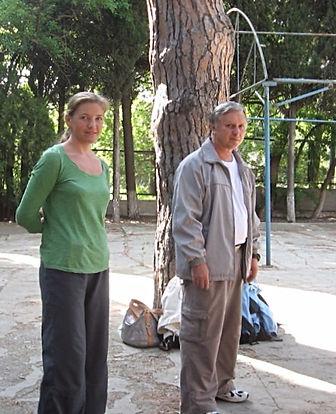 Н.Н.Балашов и Н.Черепанова