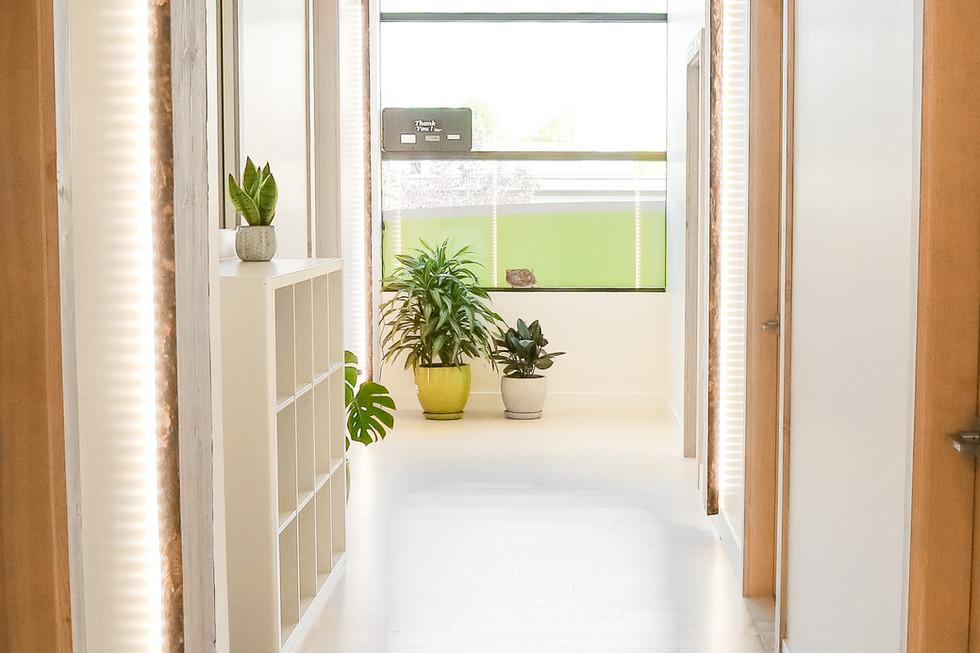 Treament Room Hallway