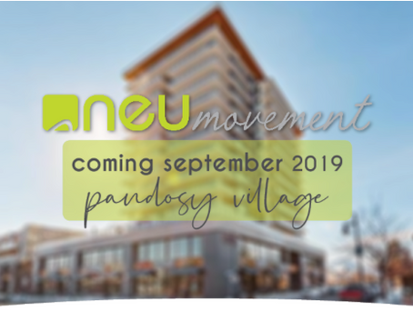Pandosy Location Opening September 2019!