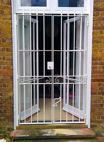 Bepsoke gate to patio doors