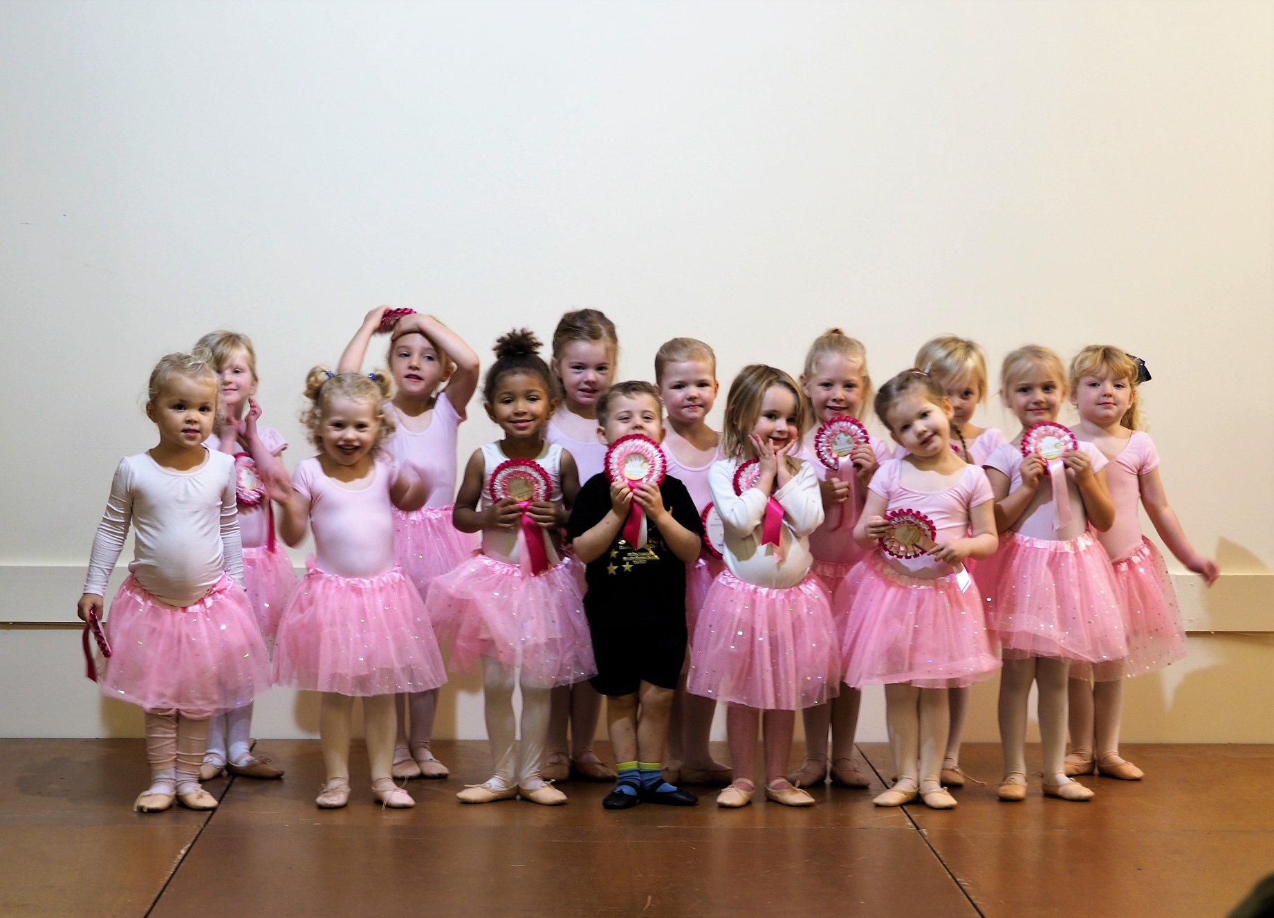 Tap and ballet dance class 3 years