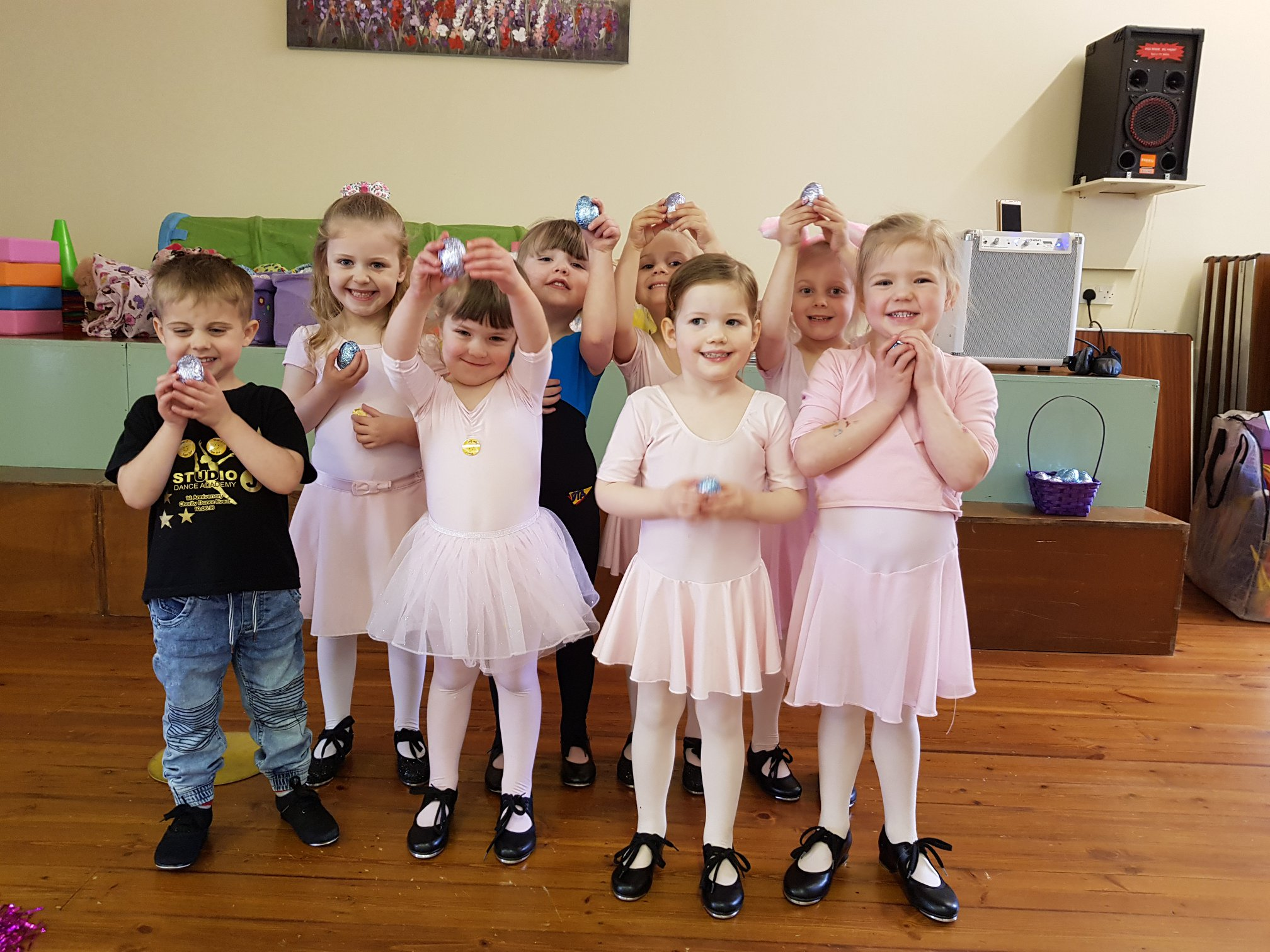 Tutus & Taps for age 3 and up
