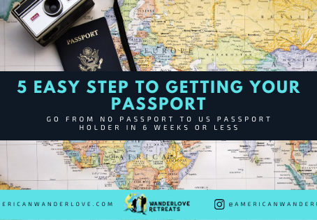 5 Simple steps to getting your passport