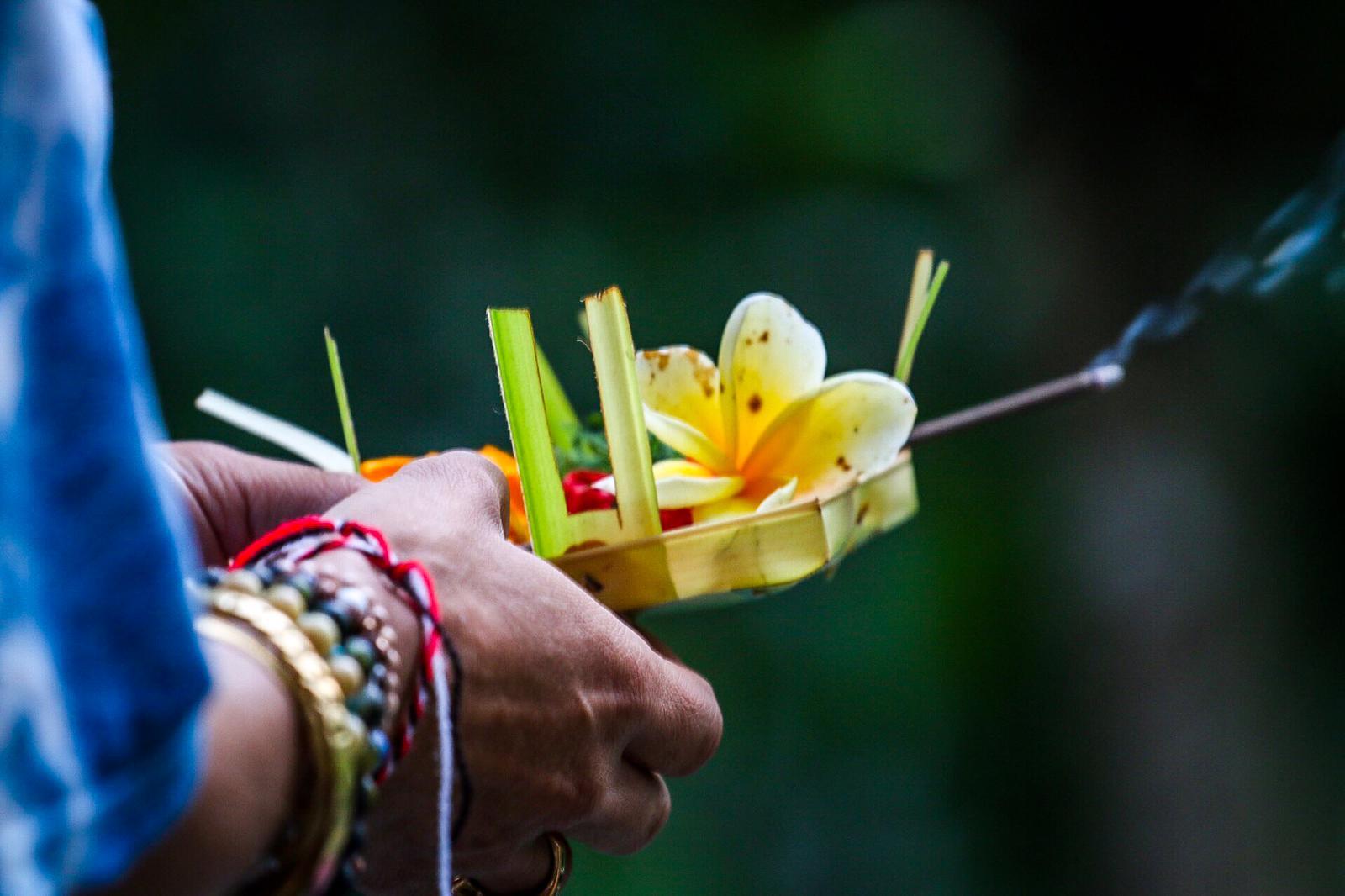 Canang Sari Offering