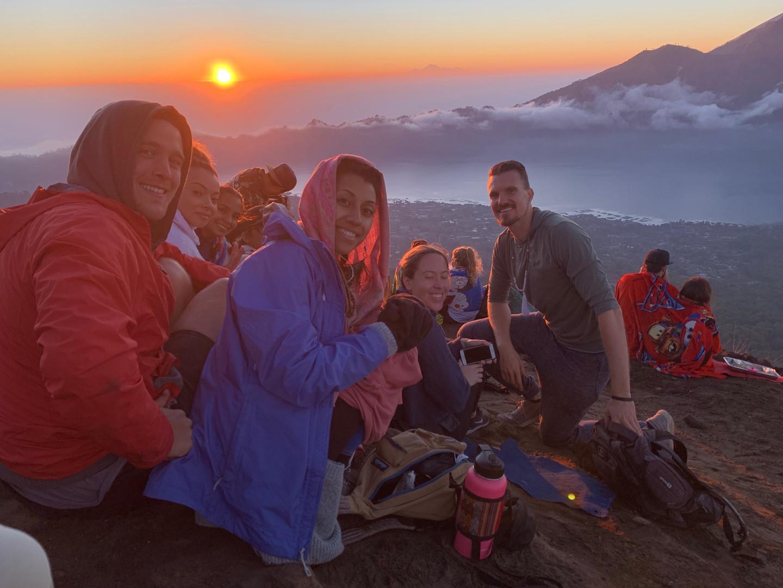 Sunrise Mt. Batur Active Volcano