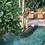 Infinity pool surrounded by the jungle and jackfruit trees in the backyard of the villa!