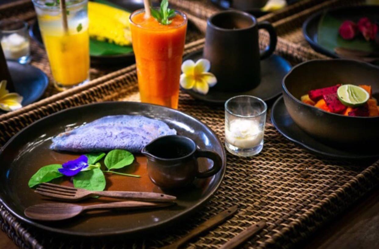 Fresh, Local and Organic Balinese Breakfast
