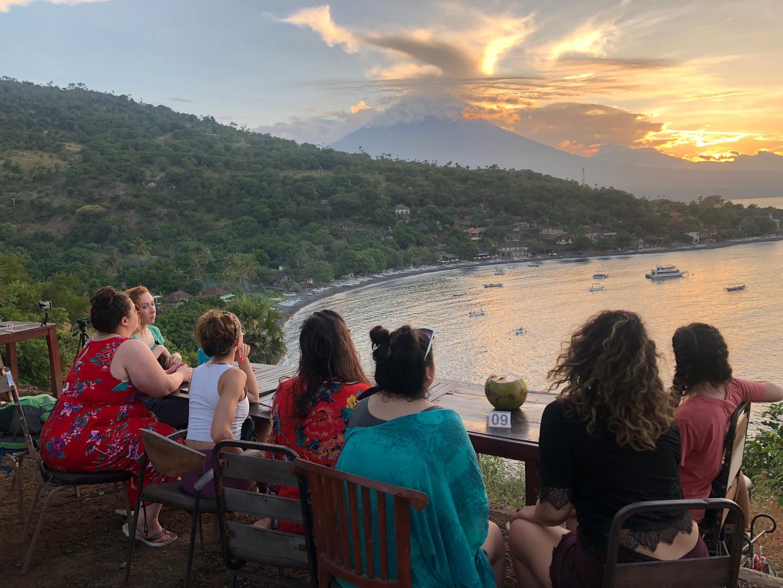 Sunset Volcano Views