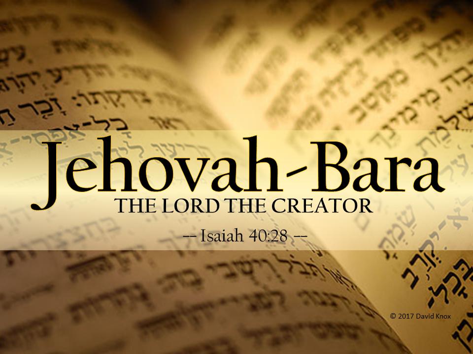 Jehovah-Bara