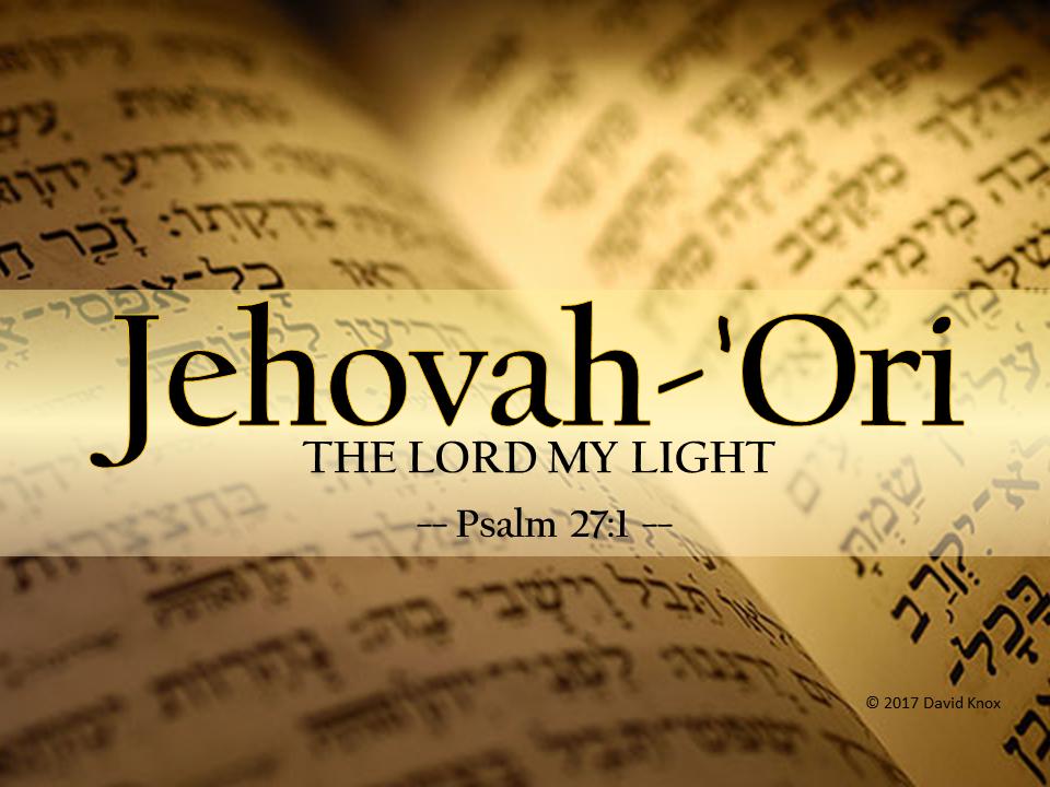 Jehovah-Ori