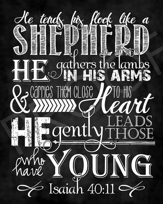 He is the Good Shepherd