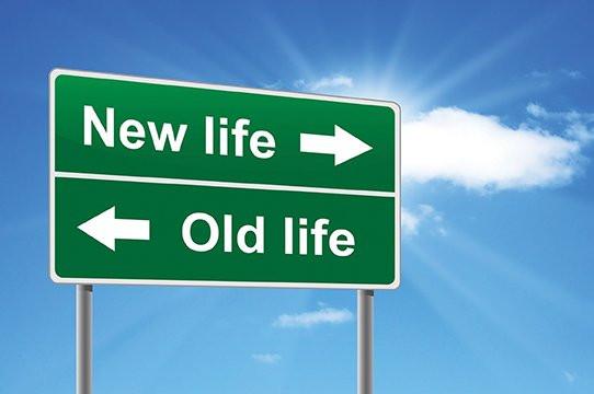 Healing, new life old life
