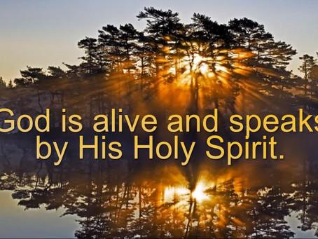 The Spirit Speaks Truth Expressly