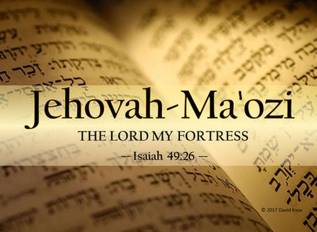 Jehovah-Ma'ozi
