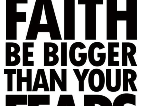 Give Me More Faith