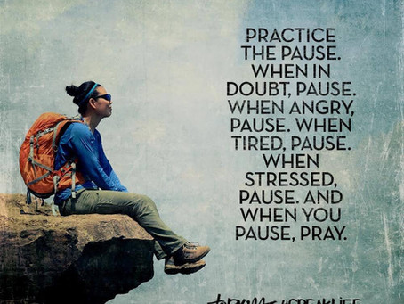 Before You Speak, Pause