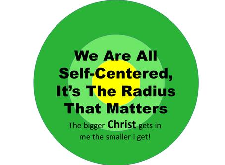 Holy Spirit Help Me  WithMySelf-Centeredness!
