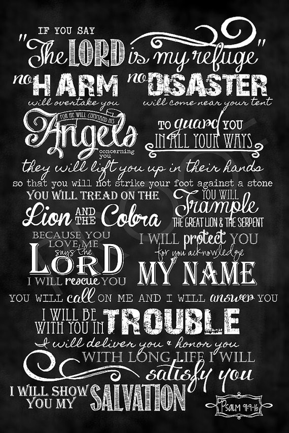 Lord my refuge