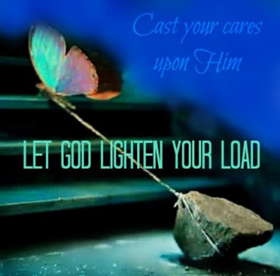 cast your cares upon Him