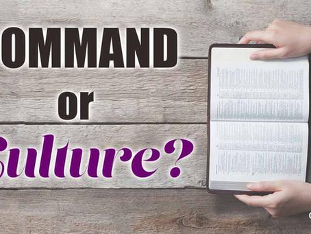The Culture of Faith