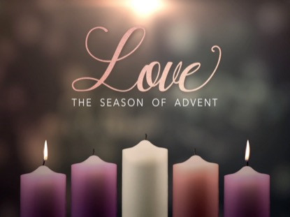 love candle, advent