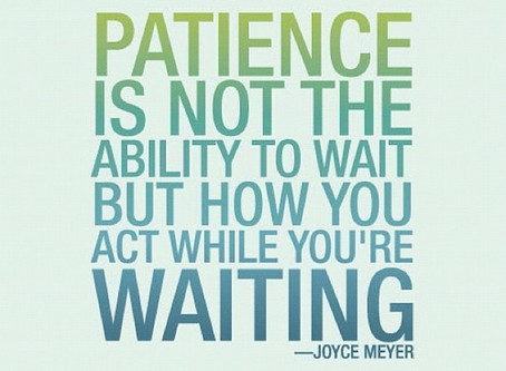 Teach Me Patience