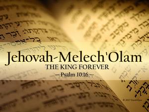 Jehovah-Melech 'Olam