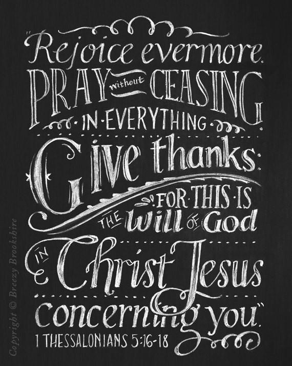 Chalk scripture