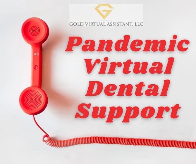 Pandemic Virtual Dental Support