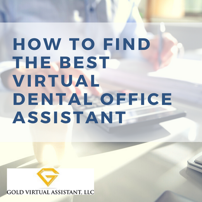 How to Find the Best Virtual Dental Assistant