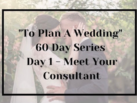 """New series: """"To Plan A Wedding"""" - Starting Today!!!"""