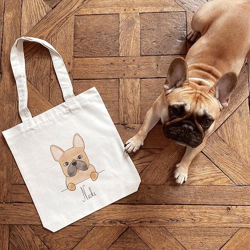 Tote bag épais Animal de compagnie personnalisé nouvelle version