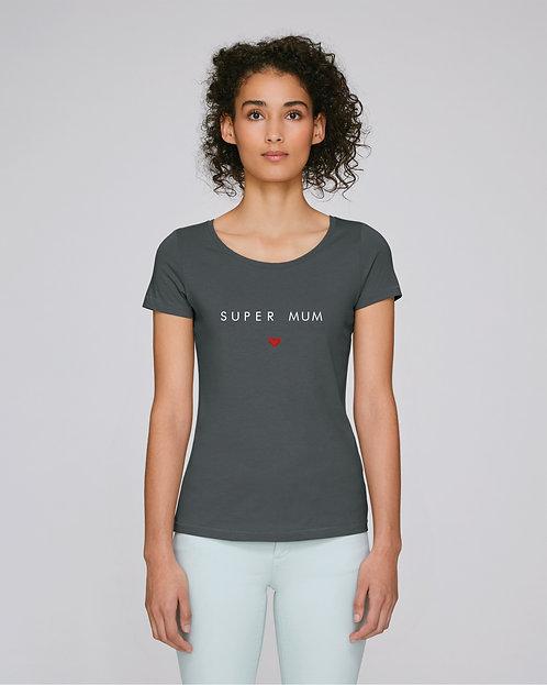 T-shirt Femme coeur droit (+options)