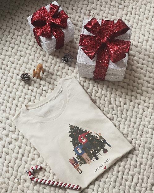 T-shirt Christmas family personnalisable unisexe (+couleurs)