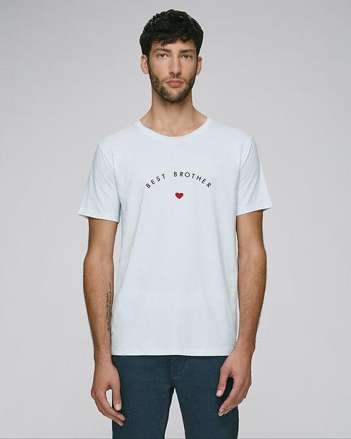 T-shirt Homme coeur arrondi (+options)