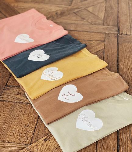 Tshirt Big love automne (+ options)