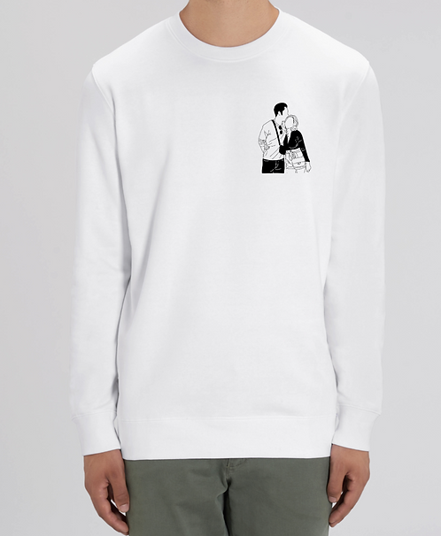 Sweat illustration Black & White enfant (+ Options)