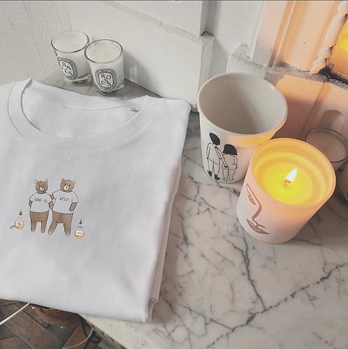 T-shirt Famille Ours enfant (+ Options)