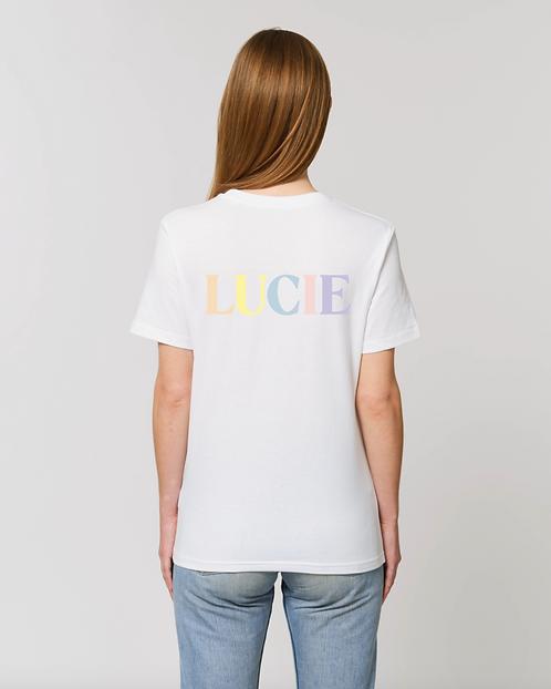 T-shirt Pastel enfant personnalisable