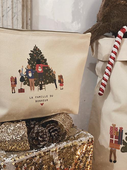 Trousse Christmas family personnalisable