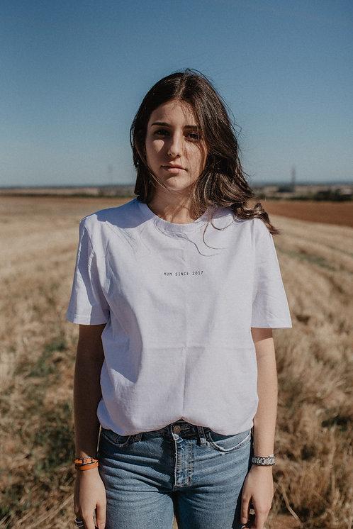 T-shirt mini Texte Unisexe