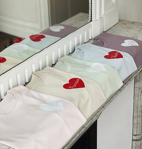 Tshirt Big love Printemps 2021 (+ options)