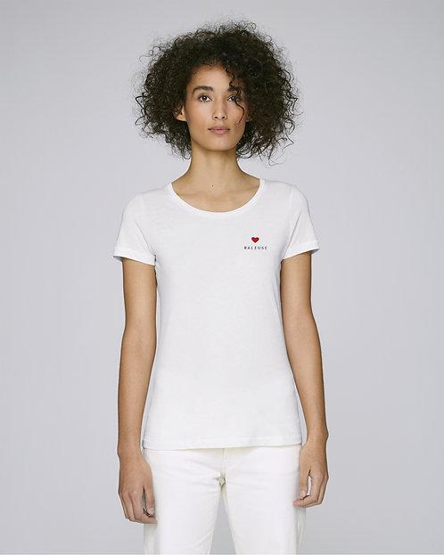 T-shirt Femme mini coeur (+options)