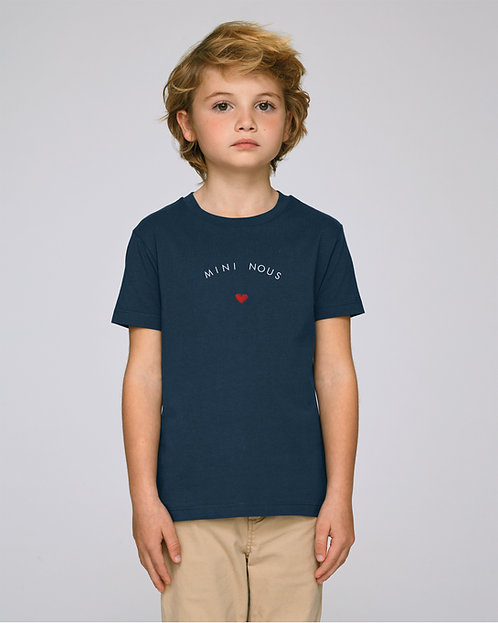 T-shirt Enfant coeur arrondi (+options)