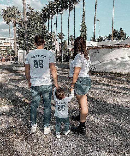 Tshirt FAMILY personnalisable unisexe (+ Couleurs)