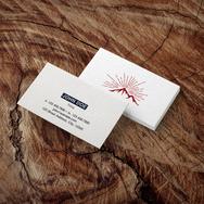 Cotton Business Card - Mountain