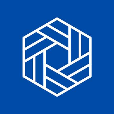 Geometric Shapes - Blue